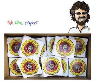 Brinde Grátis Dois Adesivos Ask Dave Taylor