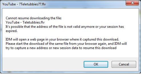 Cara Resume File Internet Download Manager