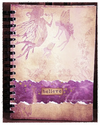Believe Fairy Visual Journal