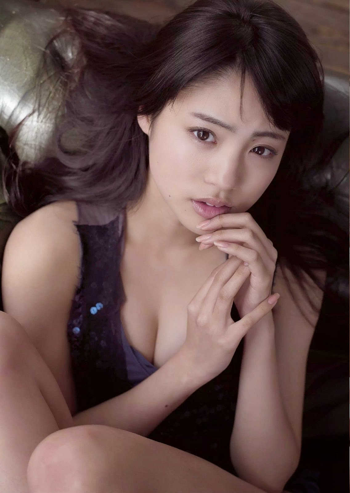 Shida Yuumi 志田友美 Weekly Playboy June 2014 Photos 4