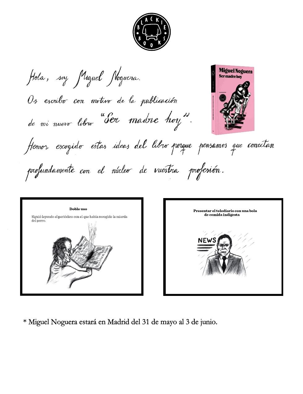 Literaturas Noticias: 90.- SER MADRE HOY - el nuevo libro
