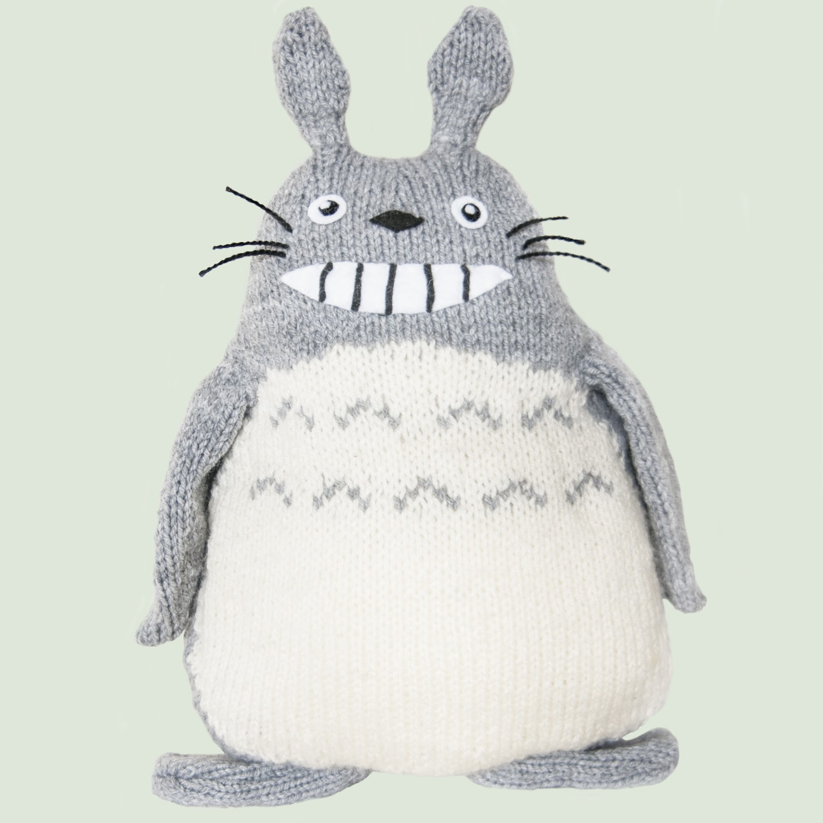 What ive been knitting my neighbour totoro sincerely louise my boyfriend asked me for a knitted totoro for christmas and after a trip to hobbycraft excuse my frech where he chose the yarn i started knitting away bankloansurffo Images