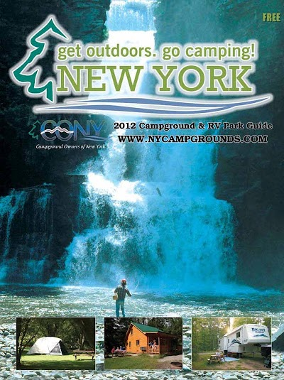 The 2012 print edition of the New York Campground & RV Park Guide is now available for free