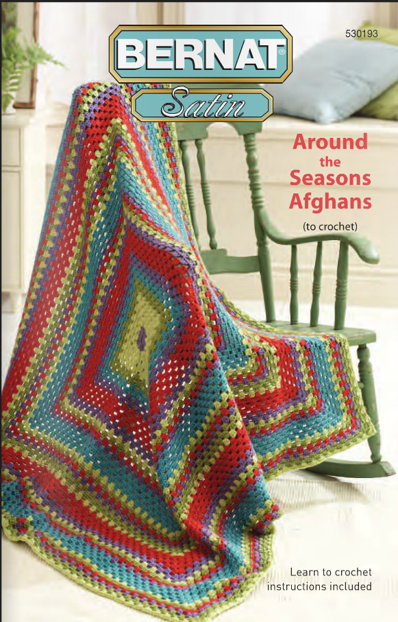 Book Cover Crochet Instructions : Crochetpedia crochet books online around the seasons