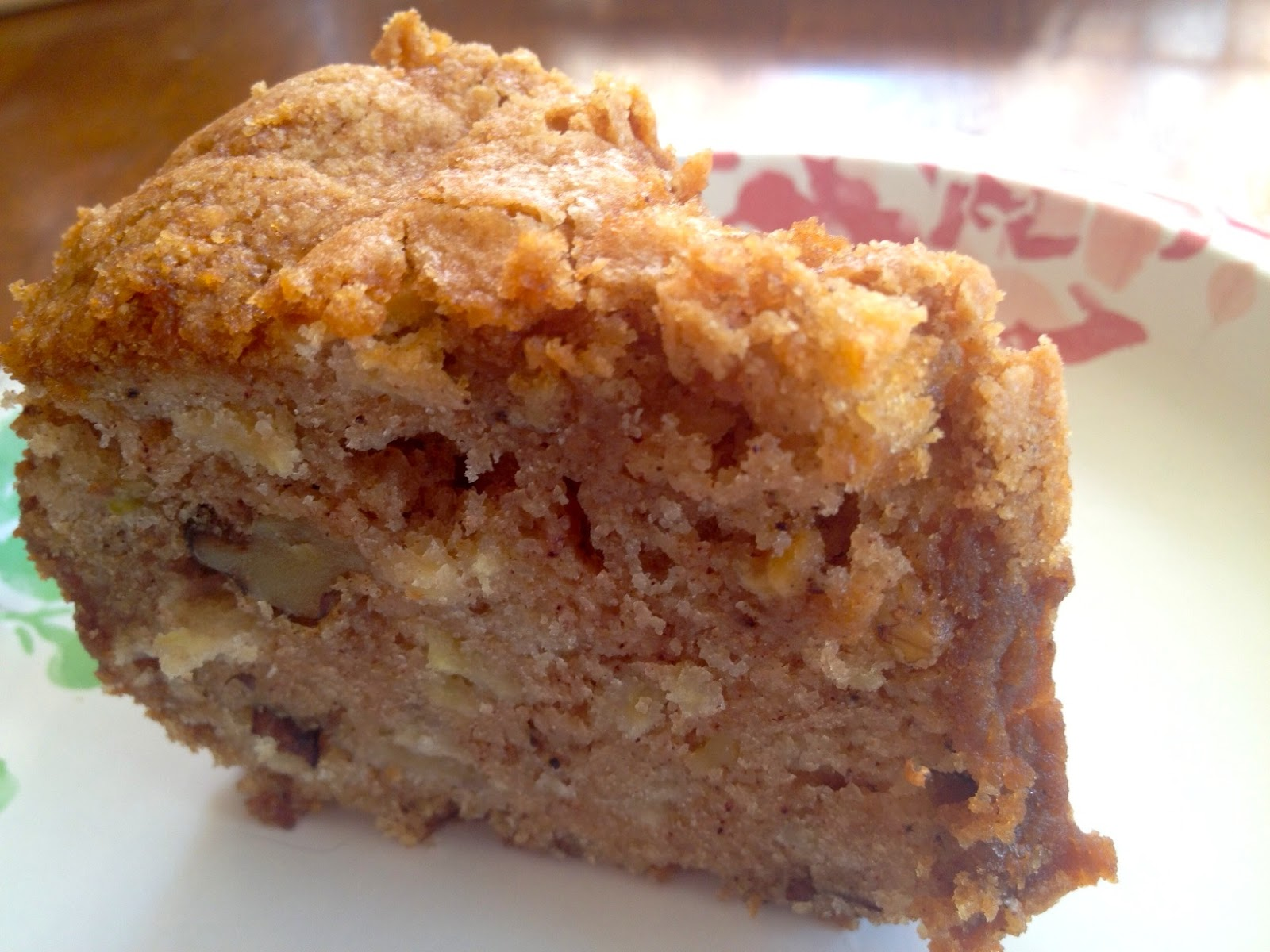 ... by Books: Romance and Mystery Reviews: Recipe: Fresh Apple Walnut Cake