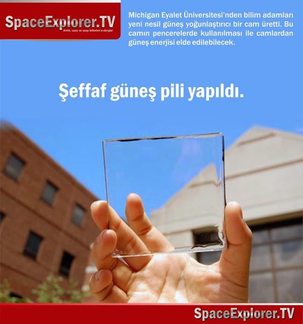 Güneş enerjisi, Kimya, Space Explorer, Uzay teknolojisi,