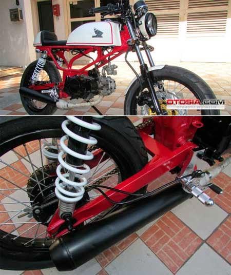 Modifikasi Honda Supra