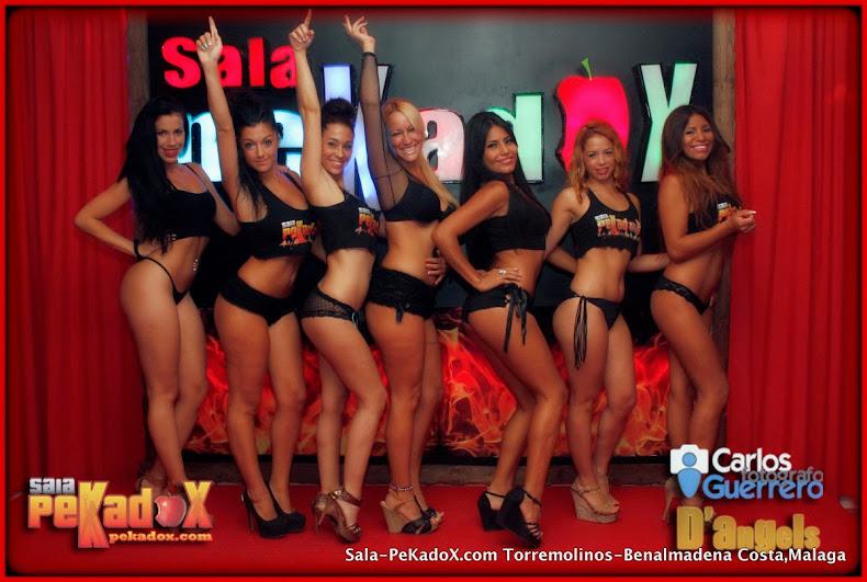 Nuestras camareras eróticas de Sala Pekadox