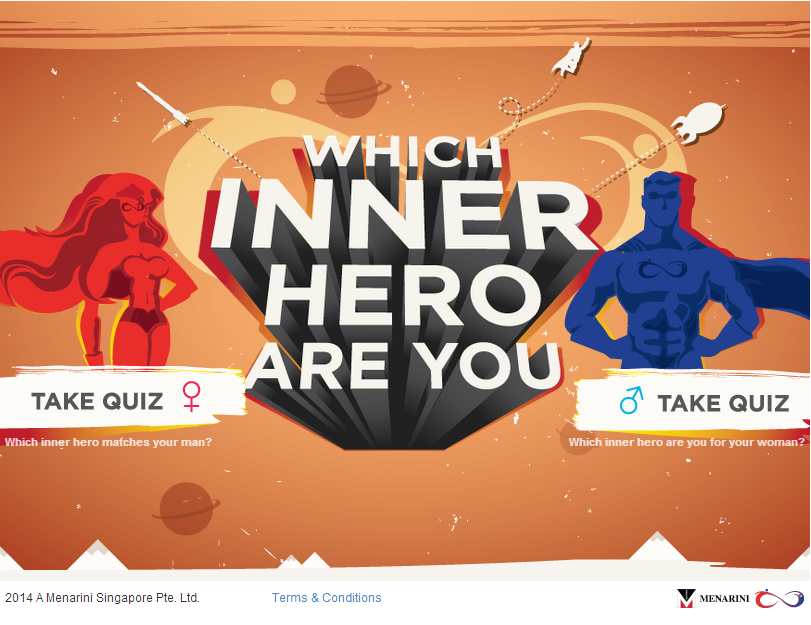 Be Brave campaign-Which Inner Hero Are you?