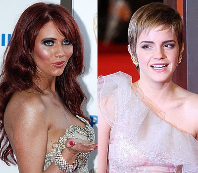 Amy Childs +and Emma Watson Which celebrity is the youngest?