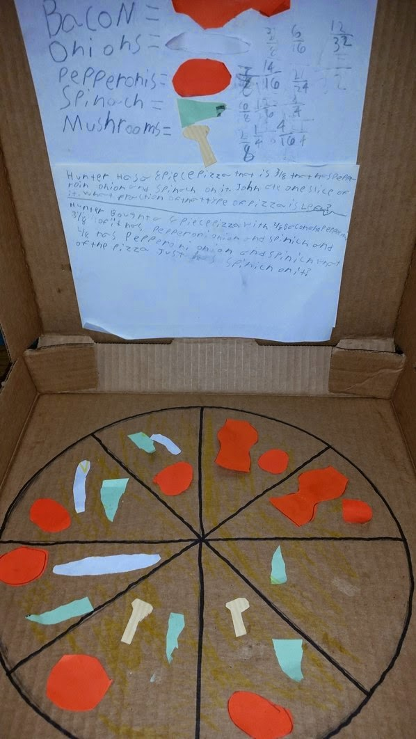 how to make a pizza box out of construction paper