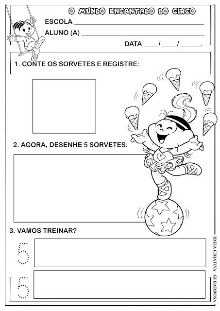 Atividade Projeto Circo Numeral 5