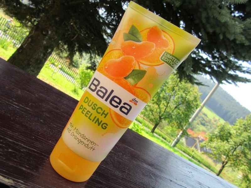 Balea: sprchovací peeling s vôňou mandarínky a pomaranča z limitovanej edície