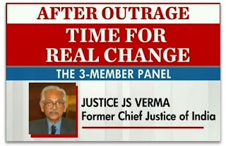 23rd January 2013 - Justice Verma Committee submitted recommendations for strict Anti-Rape Laws
