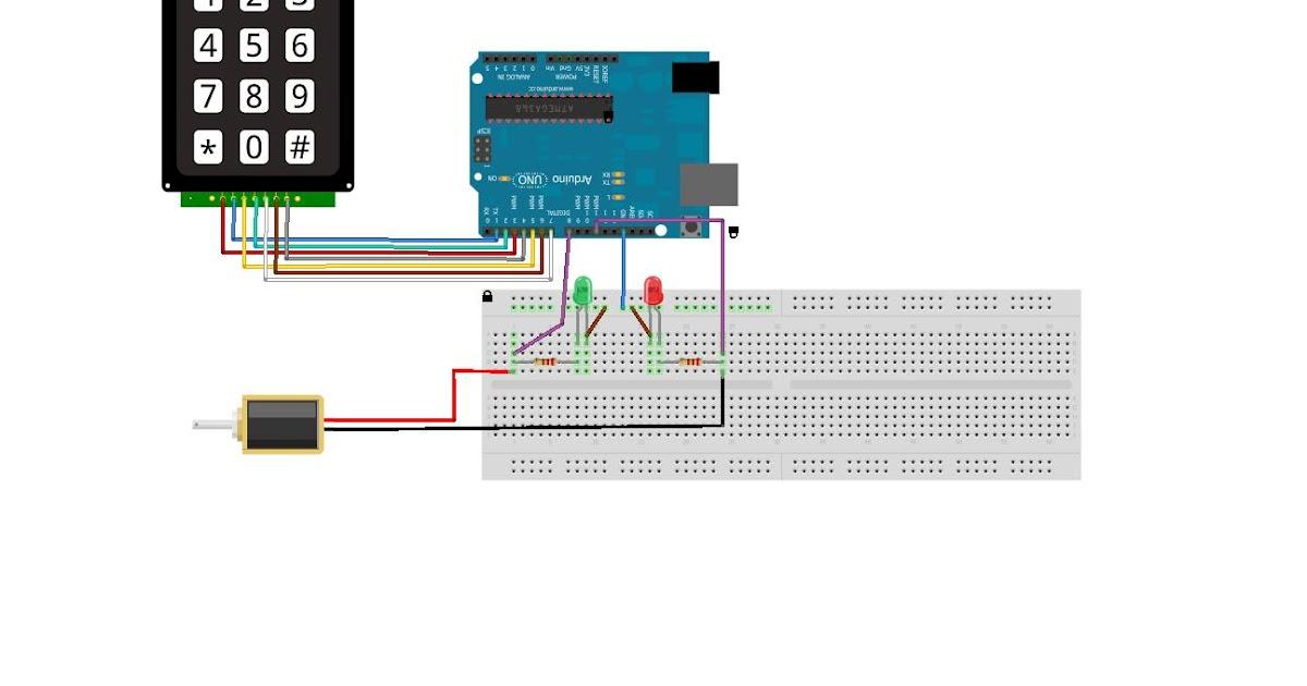 Proyecto final sistema de seguridad para puerta for Materiales para hacer una puerta