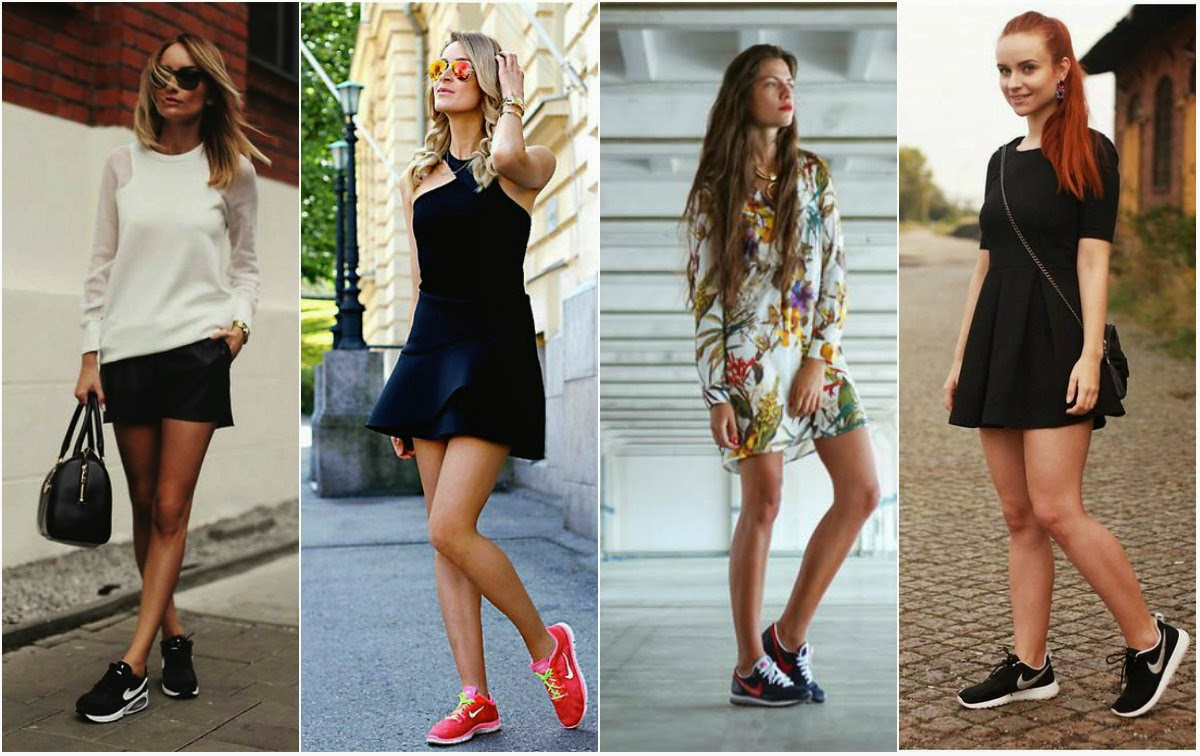 nike, sporty, lookbook, look, moda, fashion, sneakers, trendy, casual, chic, dress, shorts, skirt, streetstyle, flowers, fashionista,