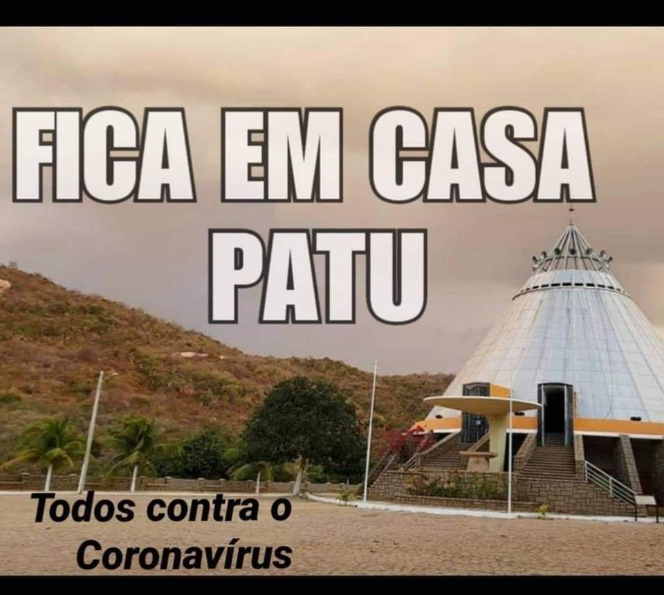 FICA EM CASA PATU - Todos contra o Coronavírus!
