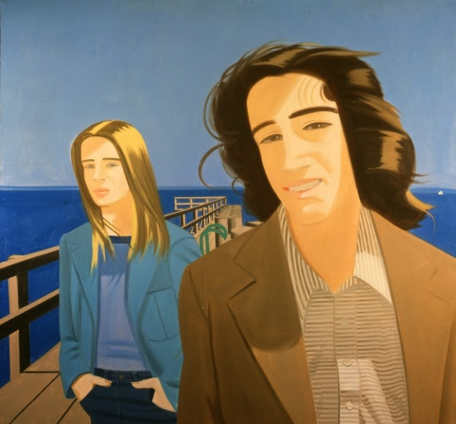 alex katz tate gallery people beach sea