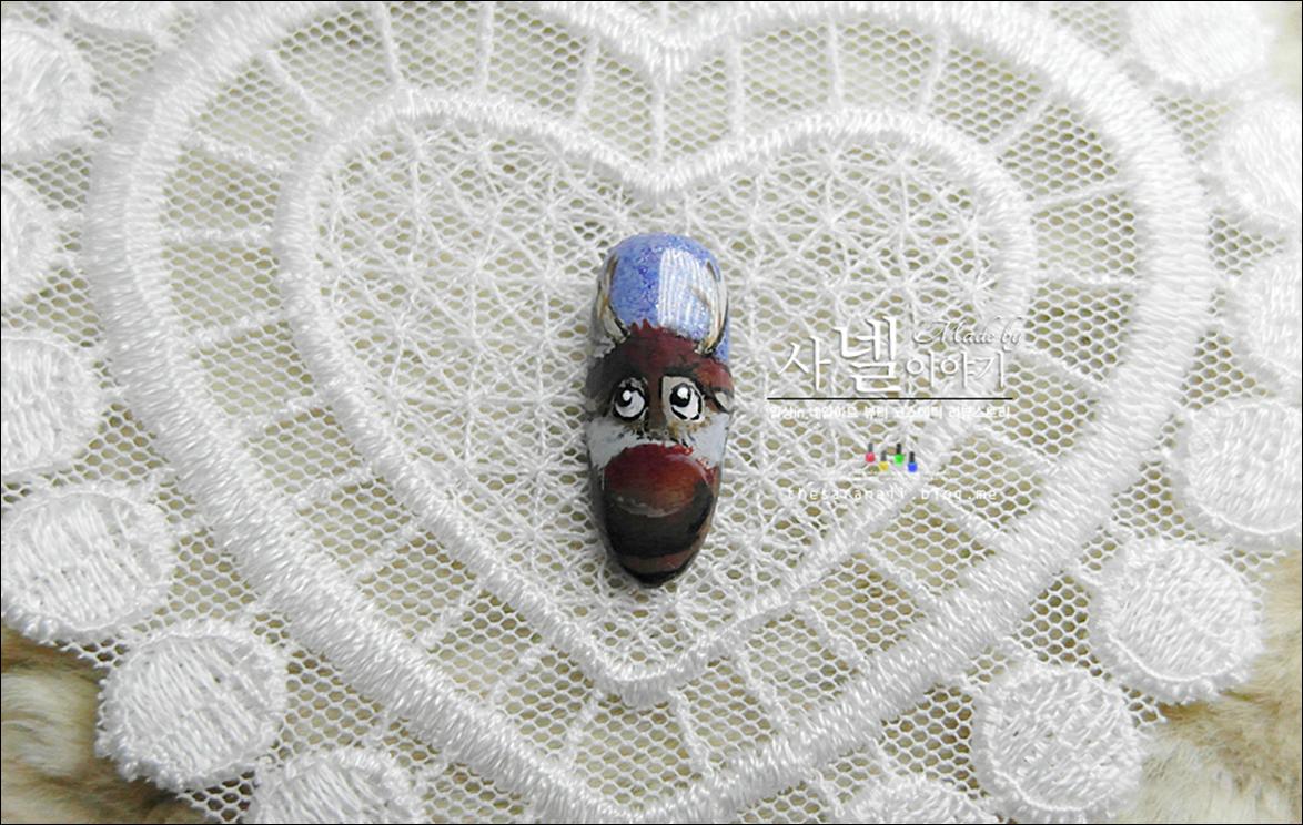 Frozen Nail Art/ Anna/ Elsa/ Olaf/ Kristoff/ Sven/ Frozen Characters/ Jell Nail Art
