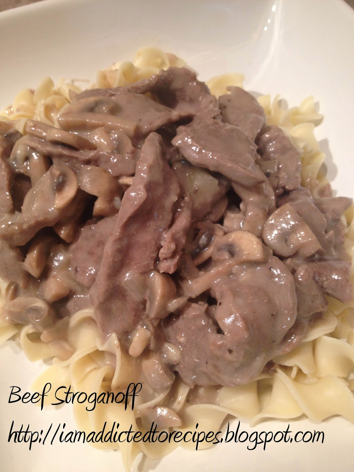 Beef Stroganoff | Addicted to Recipes