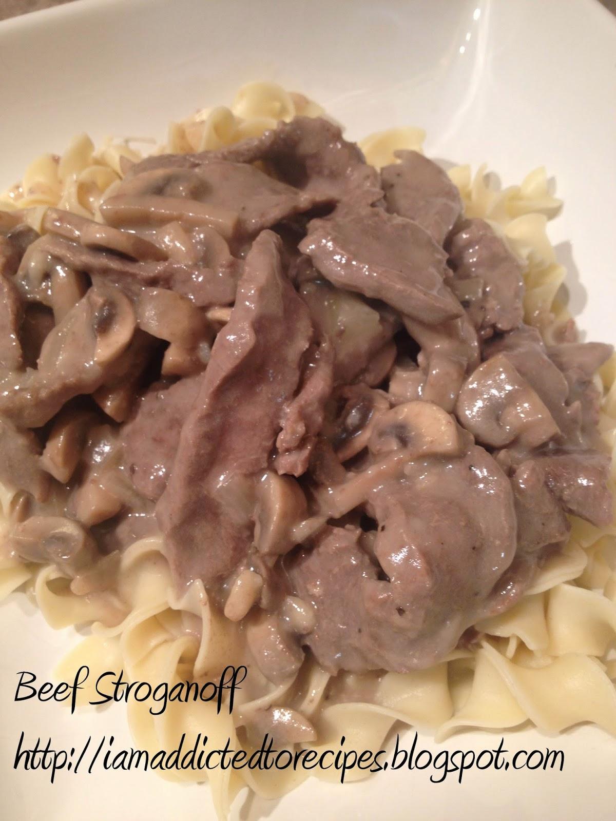 Beef Stroganoff | Addicted to Recipes