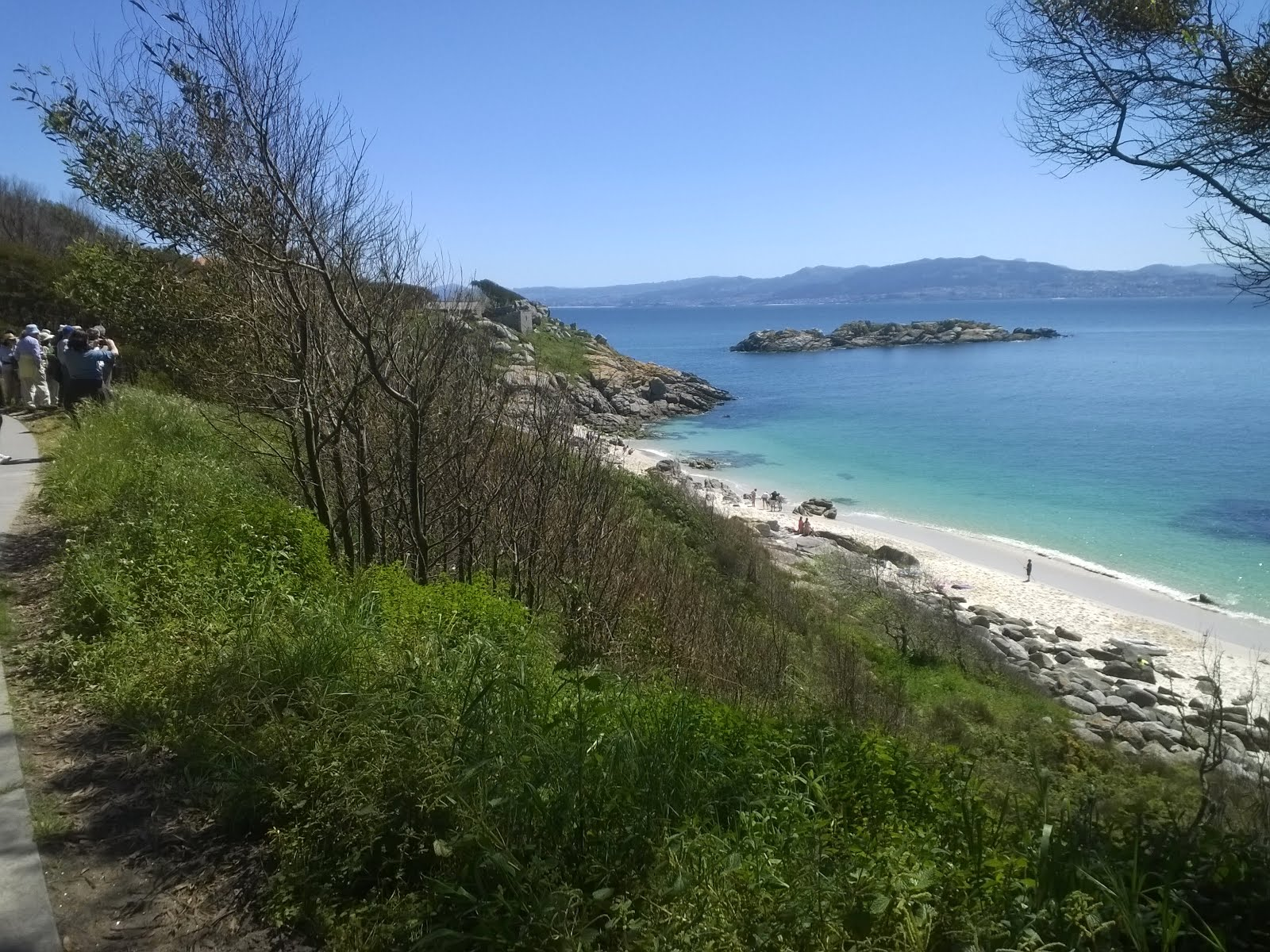 Paseo por las islas Cies