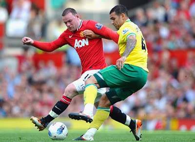Rooney Manchester United vs Norwich City