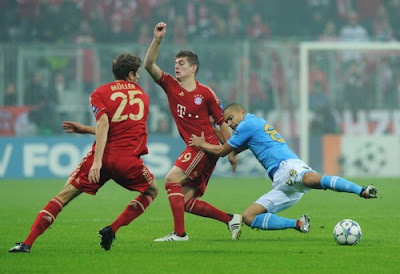 Bayern Monaco Napoli 3-2 highlights sky