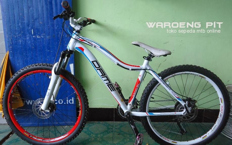 Jual Sepeda Mtb Full Bike Rakitan Murah (Dame)