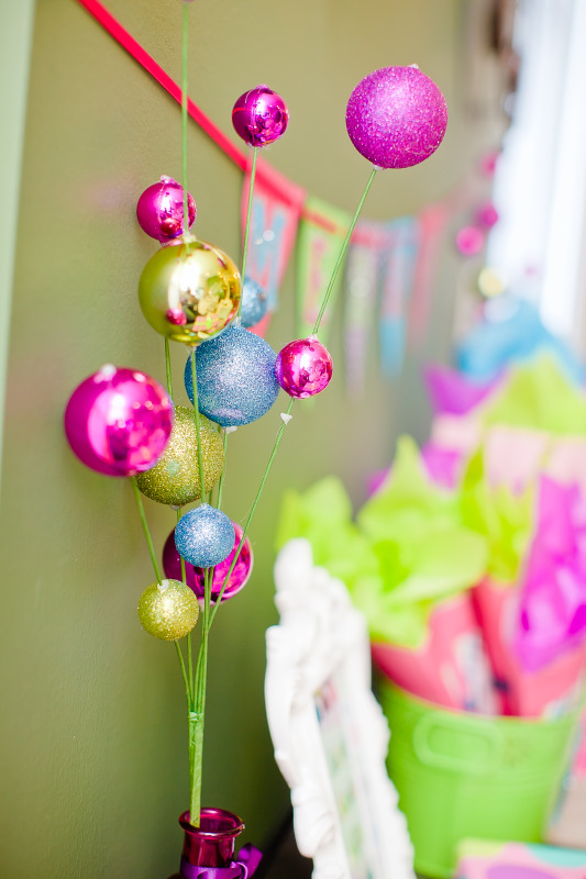 Kara S Party Ideas Merry Bright Colorful Holiday