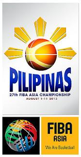 2013 FIBA Asia Championship Quarterfinals Round Game Schedule
