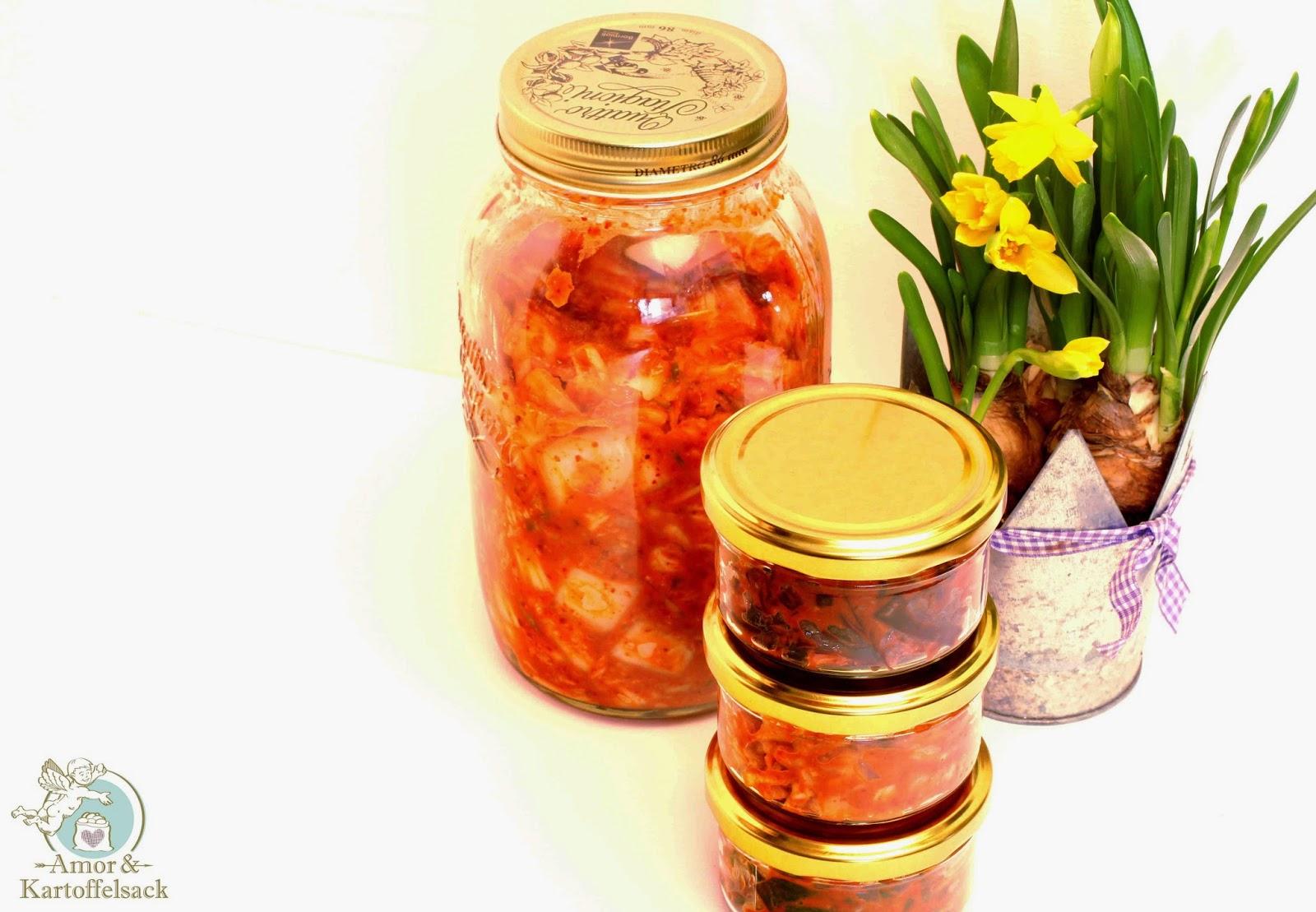 Kimchi aus Chinakohl