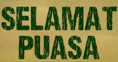 Alhamdulilah banget (puasa)