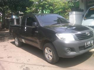 Pengiriman Toyota Hilux B 9786 SAB Jakarta ke Luwuk