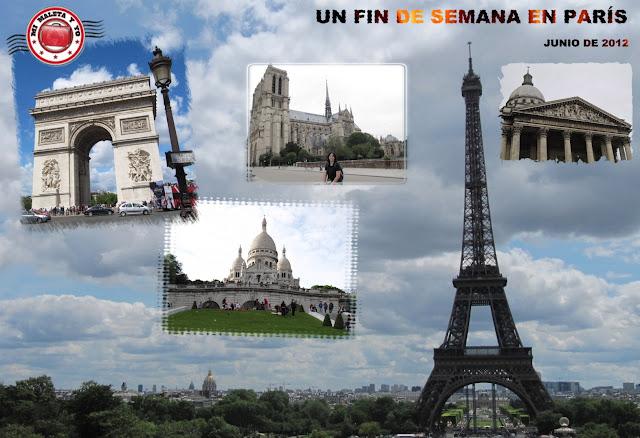 Un fin de semana en París - Junio 2012