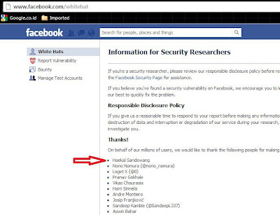 just report facebook bug here http www facebook com whitehat and get