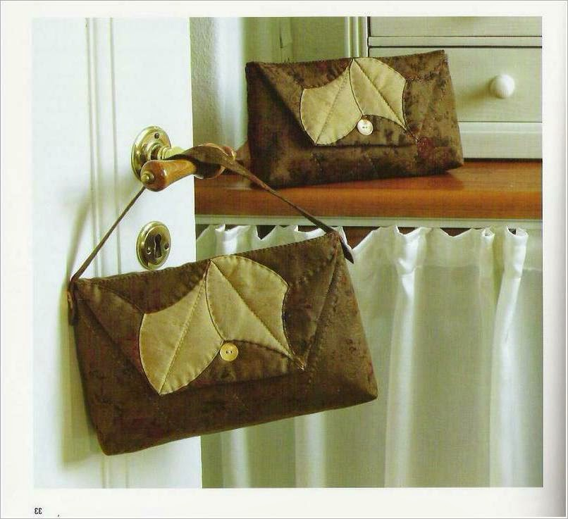 Eco bag patchwork pattern