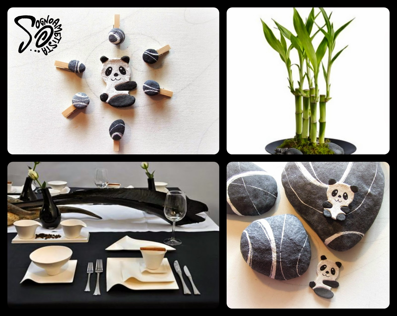 bomboniera panda