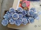 Lindas flores feitas de E.V.A que fiz para uma formatura