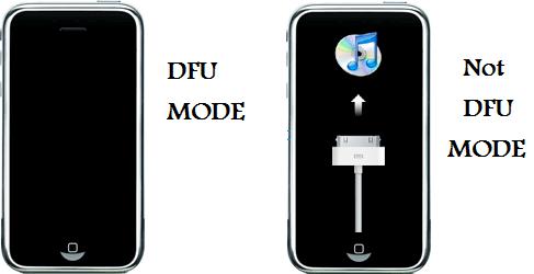 iPhone DFU Mode'dan kurtarmak.