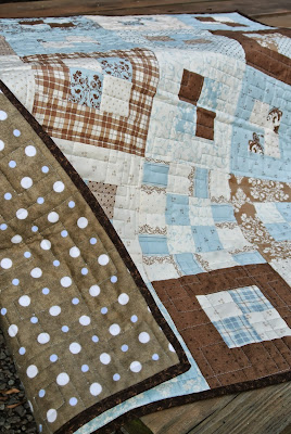 Flannel backed quilt