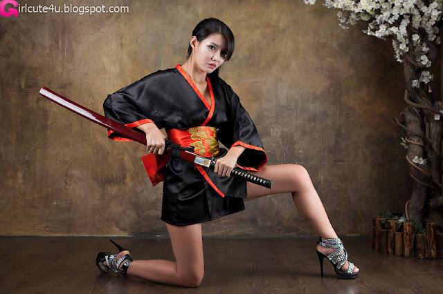 2 Cha Sun Hwa - Samurai Girl-very cute asian girl-girlcute4u.blogspot.com