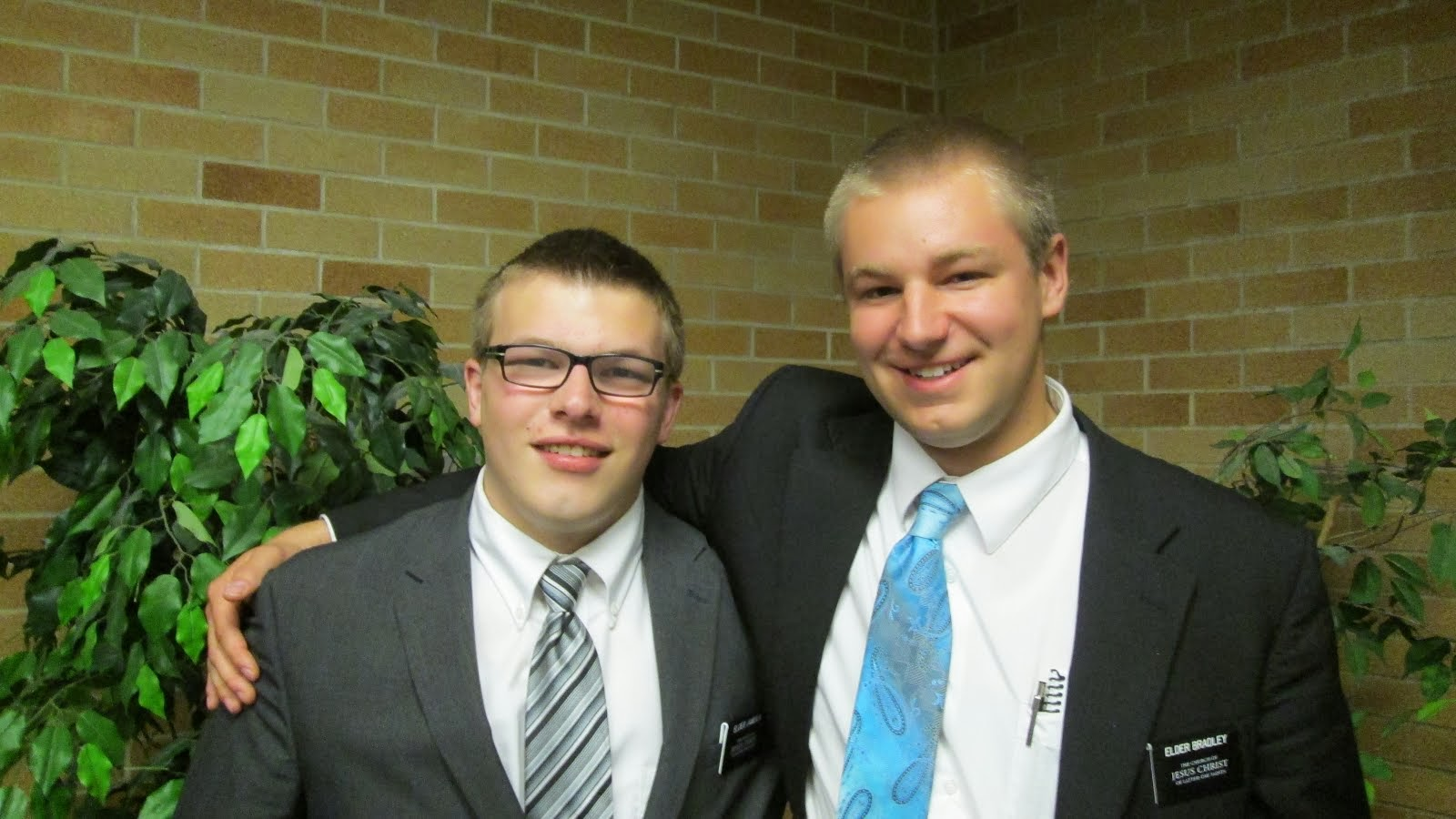 Elders Jamison and Bradley