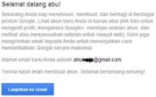 cara daftar email baru google