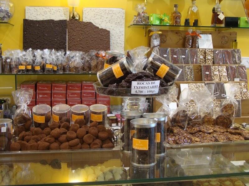 El mundo del chocolate chocolate en san sebasti n donosti - El tiempo para manana en san sebastian guipuzcoa ...