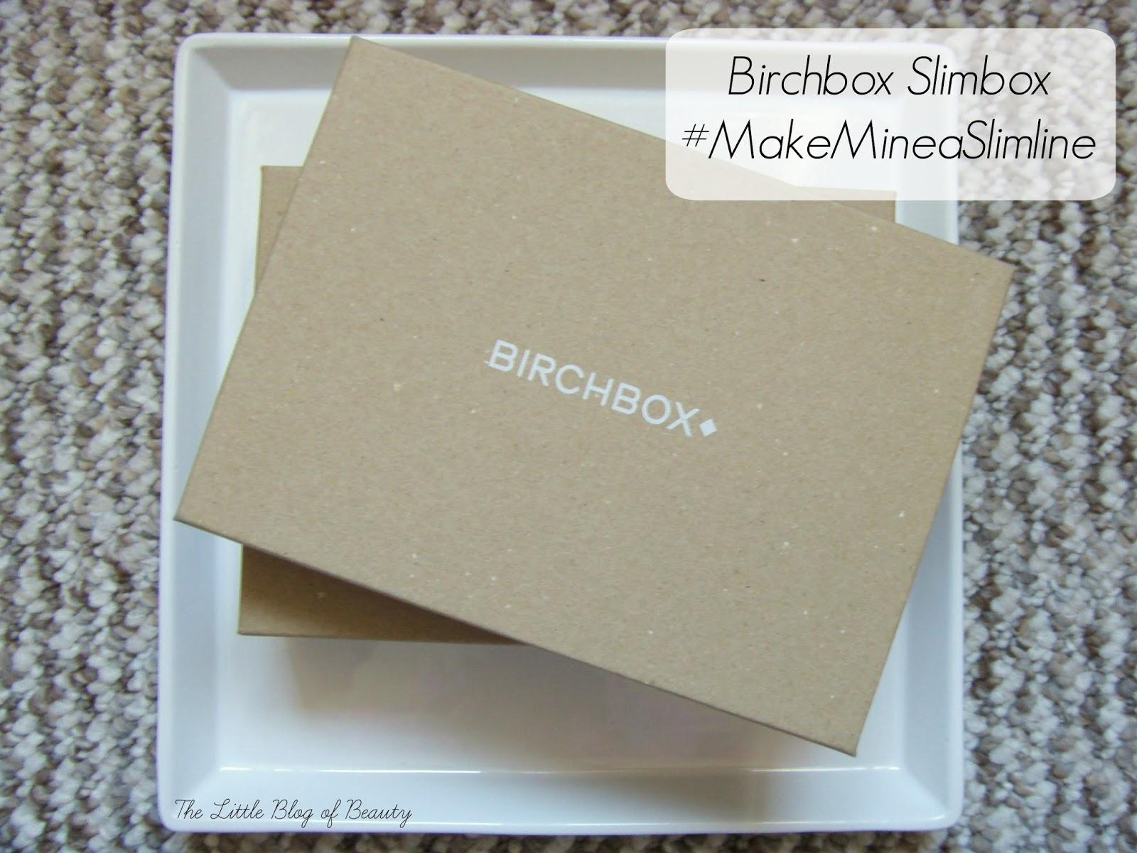 Birchbox Slimbox #MakeMineaSlimline