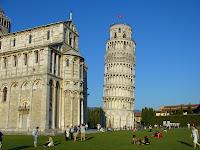 symbol Talianska šikmá veža v Pise