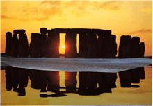 Stonehenge - even today the water level is high