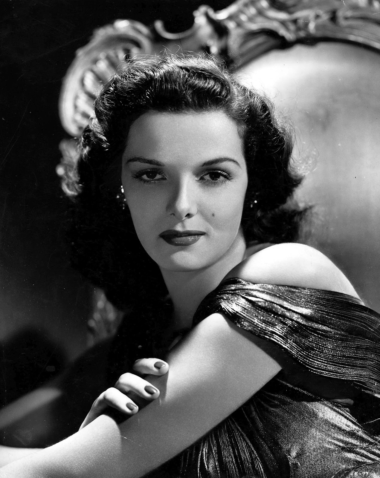 Jane Russell, Ca. 1942 Photograph by Everett