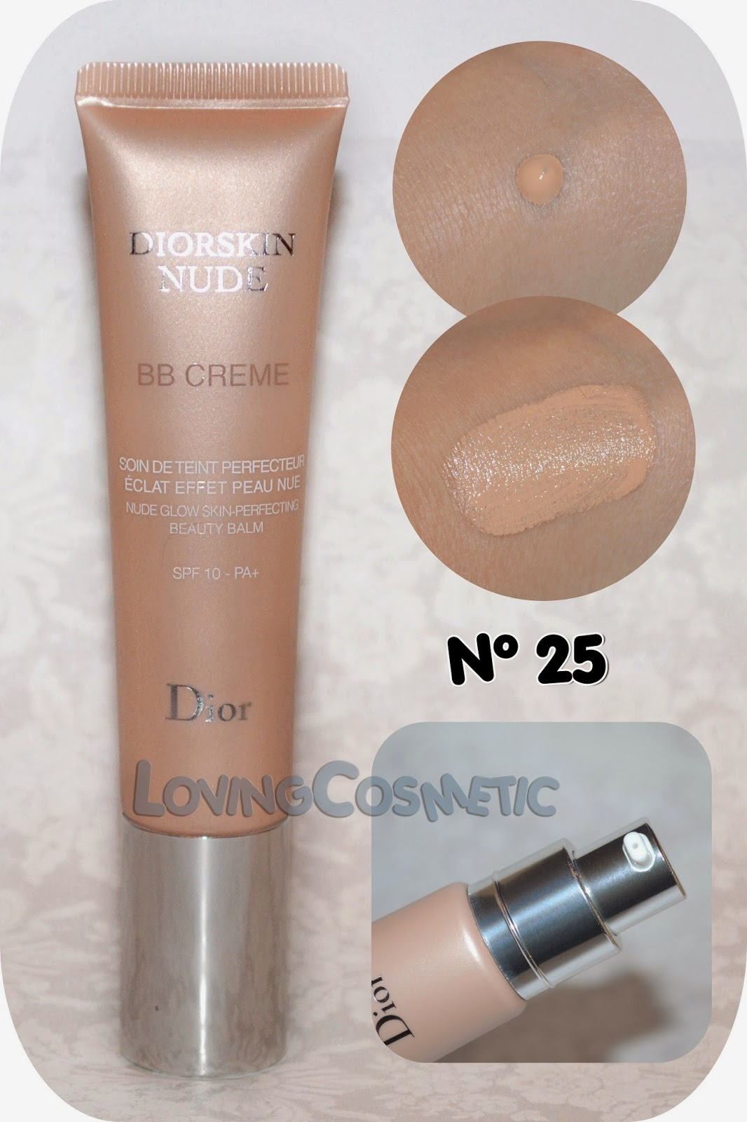 Dior Tie & Dye coleccion collection 2015 summer verano swatch swatches diorskin bb cream nude nº 25